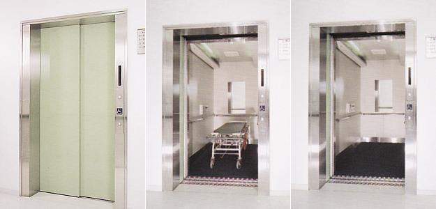 寝台用エレベーター
