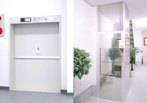 小荷物・リフト用エレベーター